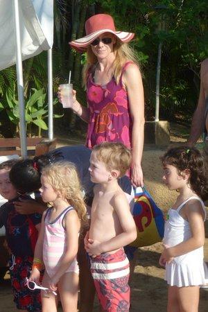 Club Med Ixtapa Pacific: Beach slip n slide