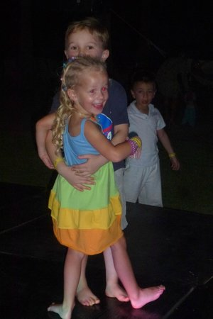 Club Med Ixtapa Pacific: Dancing after the outside dinner
