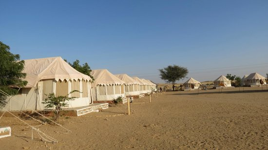 Royal Desert Camp Jaisalmer: Around 35 tents in this camp
