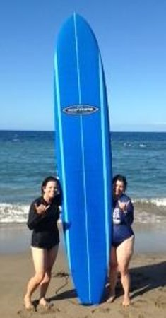 Rivers To The Sea : My sister's first time surfing!