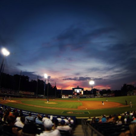 Sunset at AT&T Field