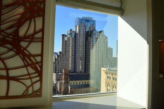 The St. Regis San Francisco: View from my room