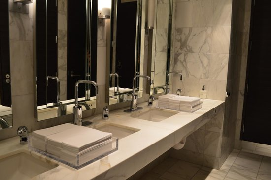 The St. Regis San Francisco: One of the lobby restrooms
