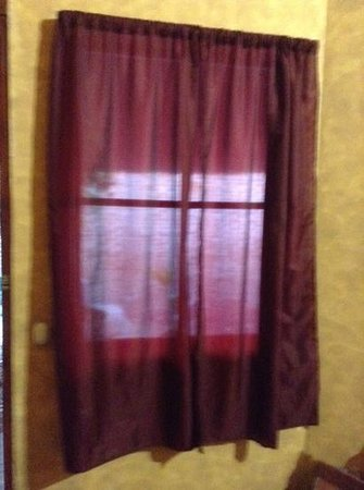 See Through Curtains the see-through curtains - make sure you get dressed with the