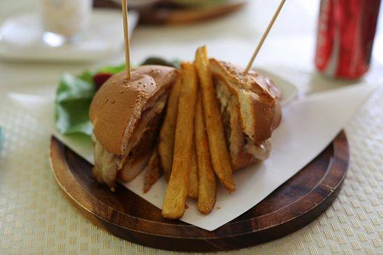 Chef Bar: Lamb burger