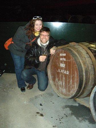 Lagavulin Distillery: Sampling a 31 year Lagavulin cask!