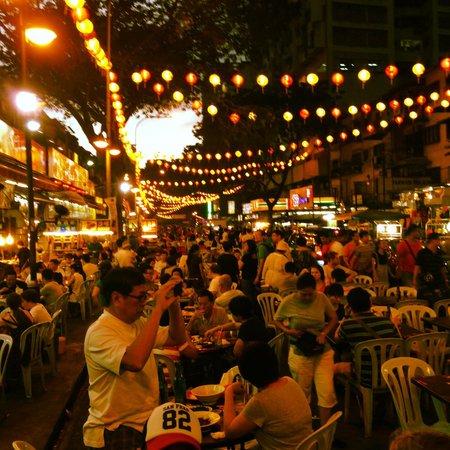 Hotel Soleil : nearby night food market