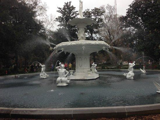 Forsyth Park: fountain