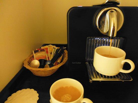 Radisson Blu Hotel, Tromso : Great coffee in the room
