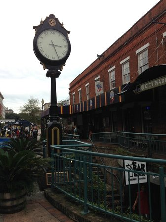 City Market: A Clock