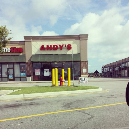 Andy's Cheesesteaks & Burgers : The store front.