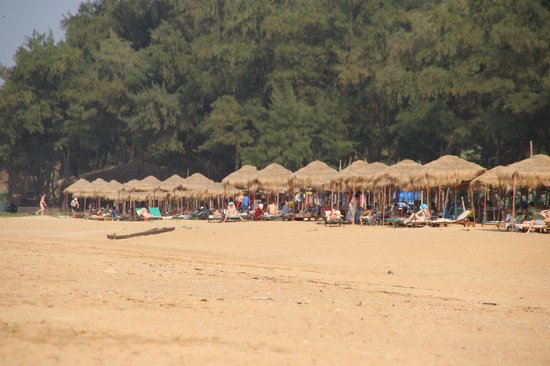 Rajbagh Beach: Standhütten