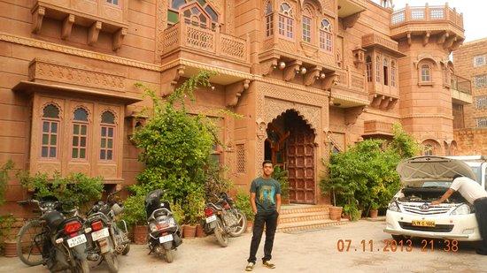 Heritage Kuchaman: entrance