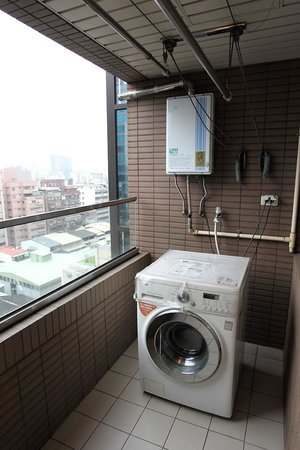 Washing machine - Picture of iTaipei Service Apartment, Taipei ...