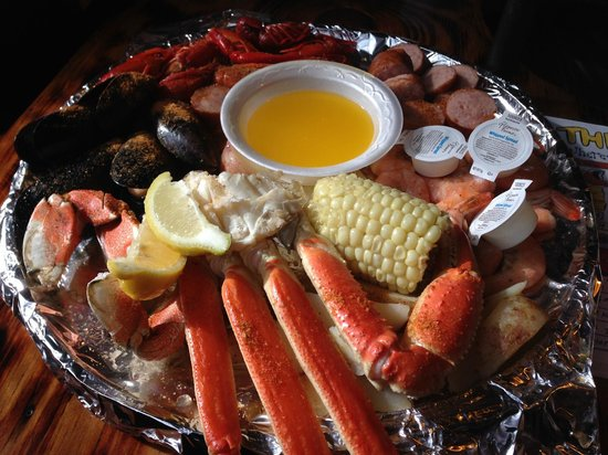The Crab Shack: Not exactly fresh, but still tasty and plentiful