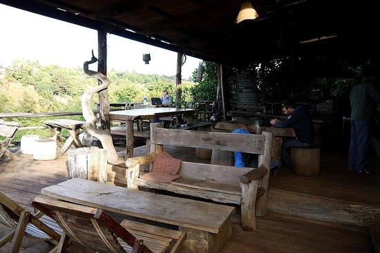 Tree Top Eco-Lodge : Communal area