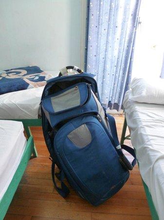 San Remo Hostel: oh blue bag, how I miss you!