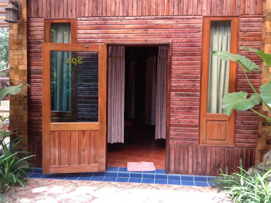 Phu Pha Ao Nang Resort and Spa: Spa for massage (not hot tub spa)