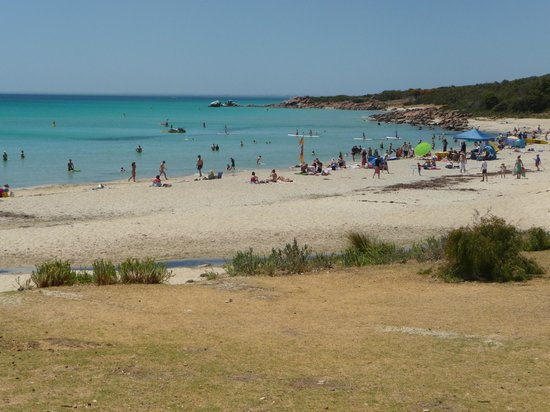 Meelup Beach is very popular for safe swimming