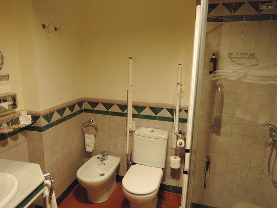 Hotel Casa Morisca: バスルーム(部屋番号1)
