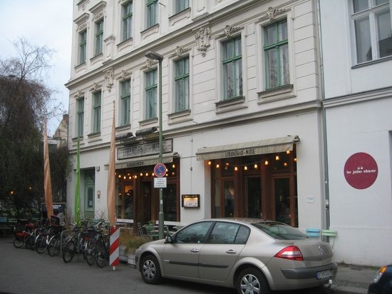 Photo of Cafe Strandbad Mitte at Kleine Hamburger Str. 16, Berlin 10117, Germany