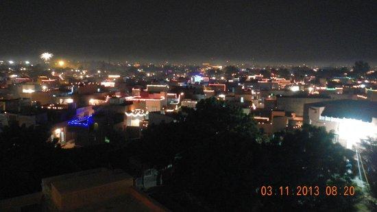 Hotel Harasar Haveli: diwali view