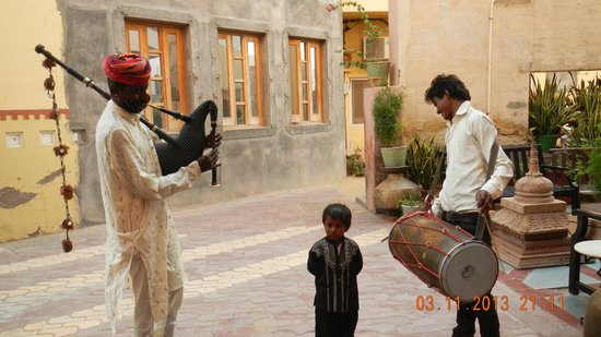 Hotel Harasar Haveli: awesomme performance