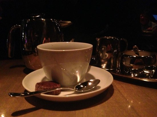 L'Abattoir Restaurant: Coffee