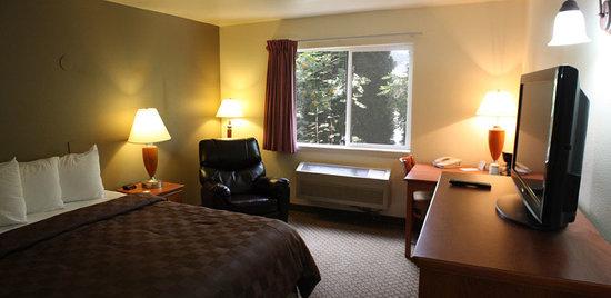 FairBridge Inn & Suites Kellogg : 1 Queen Bed