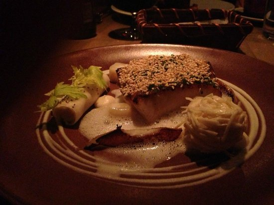 L'Abattoir Restaurant: Sesame-crusted ling cod