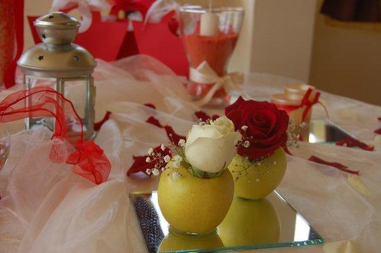 Decorazione tavolo per matrimonio - Foto di Il Giardino del Sole ...