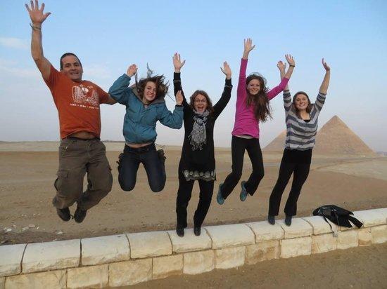 Plateau de Gizeh : pyramid jump