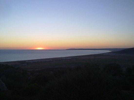 Playa de Zahara de los Atunes: Zahara de los Atunes - Puesta de sol