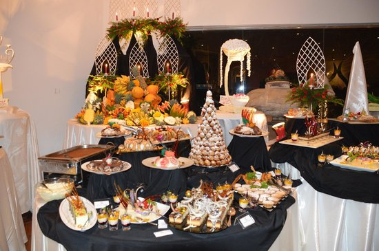 Tangerine Beach Hotel: Christmas Eve gala Dinner