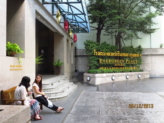 Evergreen Place Bangkok: Hotel entrance