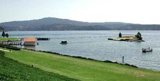 FairBridge Inn - Coeur d'Alene: Floating Golf Green