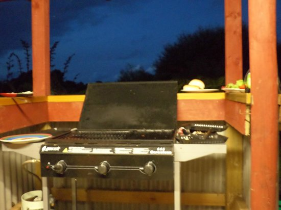 Global Village Backpackers: BBQ