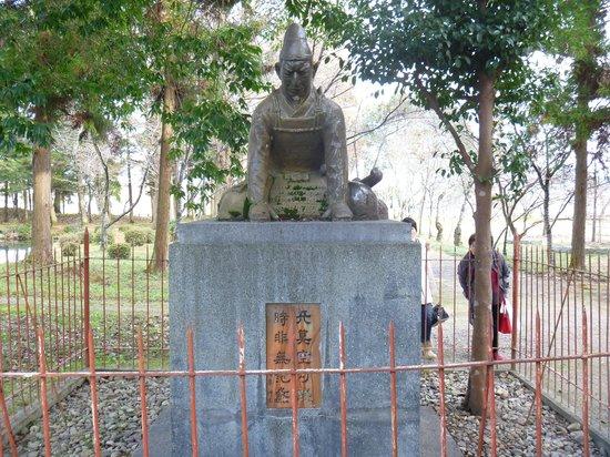 Sakura Shrine: 兒島公像