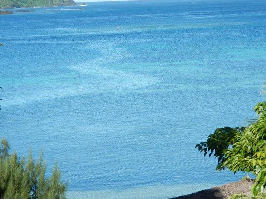 Nanuya Island Resort: View when you wake in the morning