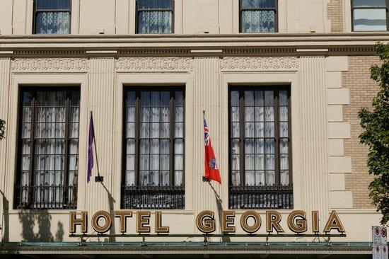 Rosewood Hotel Georgia: Façade du Georgia