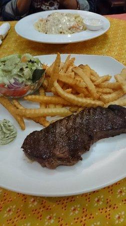 Fatty's: オージービーフのステーキ