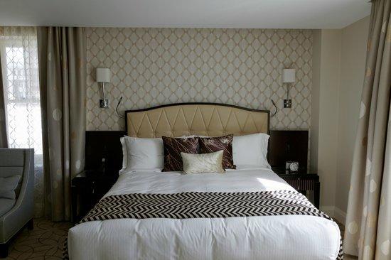 Rosewood Hotel Georgia : Chambre d'angle