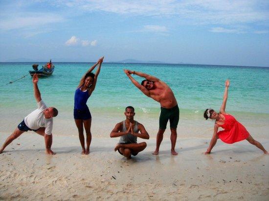 Phuket Cleanse: Yoga on the beach