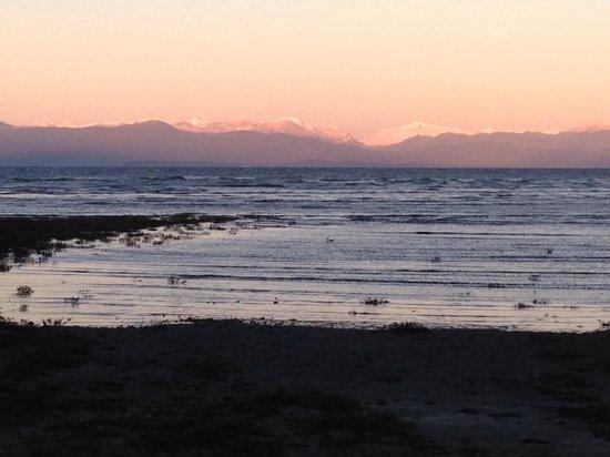 Rathtrevor Beach Provincial Park: View of Georgia Straight