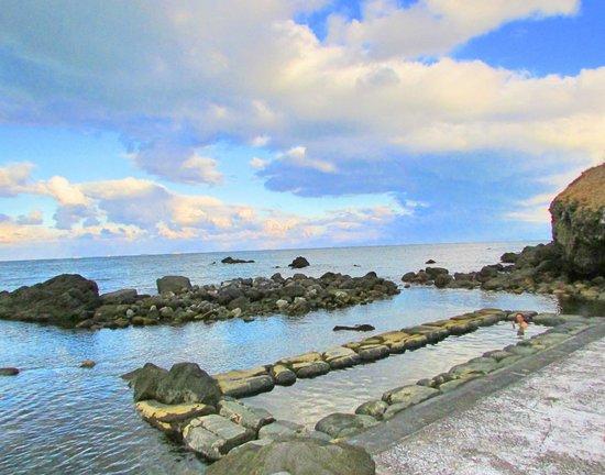 Mizunashi Kaihin Onsen: Hot spring facing the North Pacific Ocean