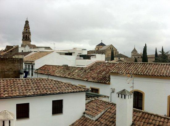 Las Casas de la Judería: 窓からの景色