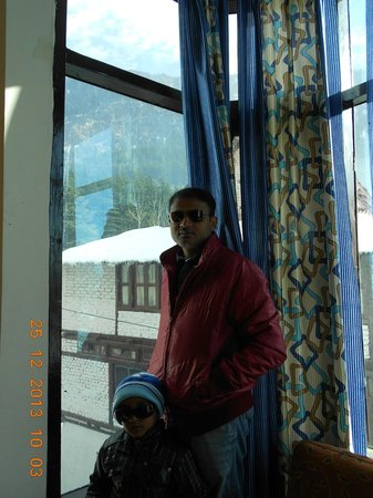 Hotel Royal Manali: View from room
