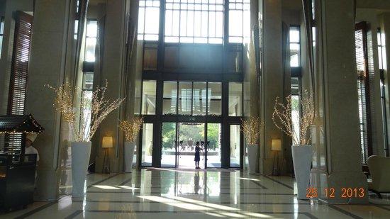 Siam Kempinski Hotel Bangkok : Entrance