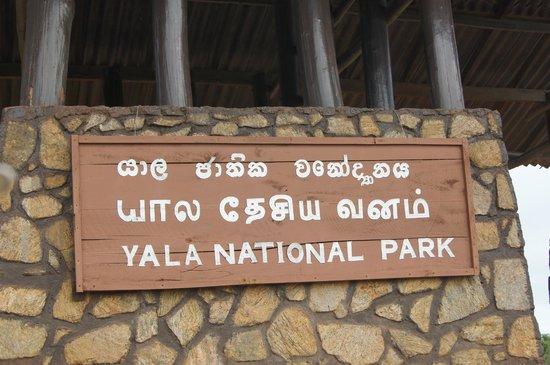 Yala National Park: Entrance