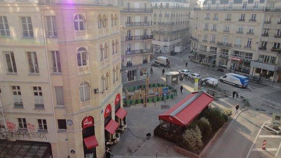 Novotel Paris Les Halles: View from room